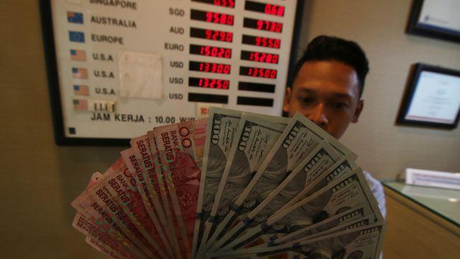 Rupiah Perkasa Rp13.685 per Dolar AS pada Awal Pekan