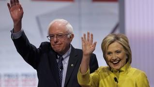 Sanders Akan Bekerja Sama dengan Clinton untuk Kalahkan Trump