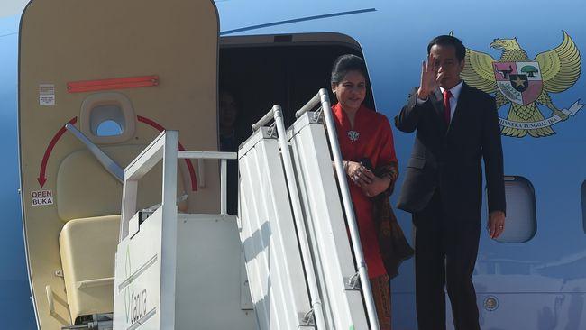 Presiden Jokowi Tiba di California Amerika Serikat
