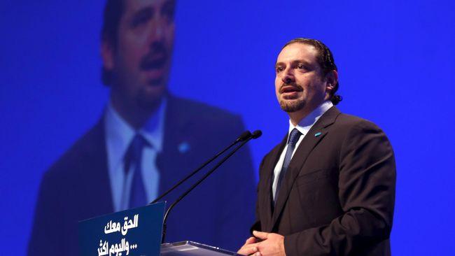 Setelah Mundur, Eks PM Hariri Kembali ke Libanon