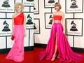 Baju 'Kembaran' Taylor Swift dan Kimberly Schlapman di Grammy