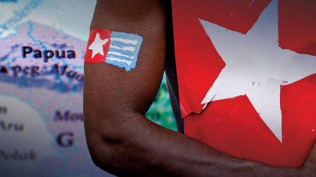 Polisi Bubarkan Acara Deklarasi Negara Papua Barat