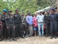 Aparat Cabut Plang Kantor Gerakan Pembebasan Papua di Wamena