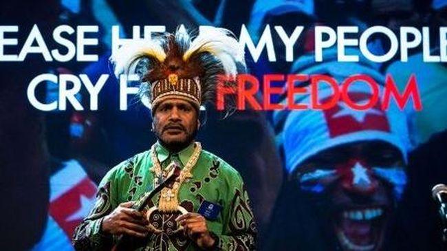 Indonesia Kecam Penghargaan untuk Tokoh Separatis Benny Wenda
