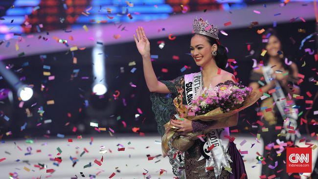 Kezia Roslin Didaulat Menjadi Puteri Indonesia 2016