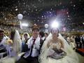 Tiga Ribu Pasangan Nikah Massal di Korsel
