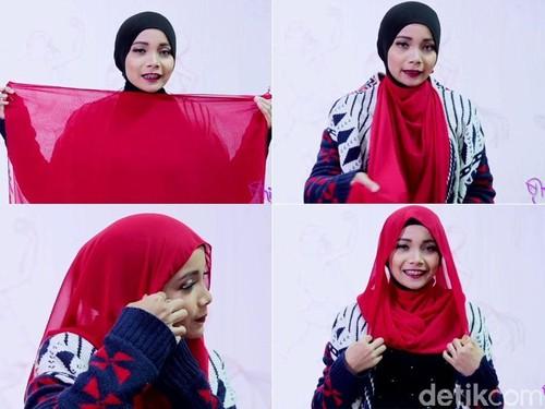 Tutorial Hijab Pashmina Simpel yang Cocok Dipakai Saat Terburu-buru