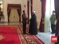 Jokowi Terima Imam Besar Universitas Al Azhar Mesir