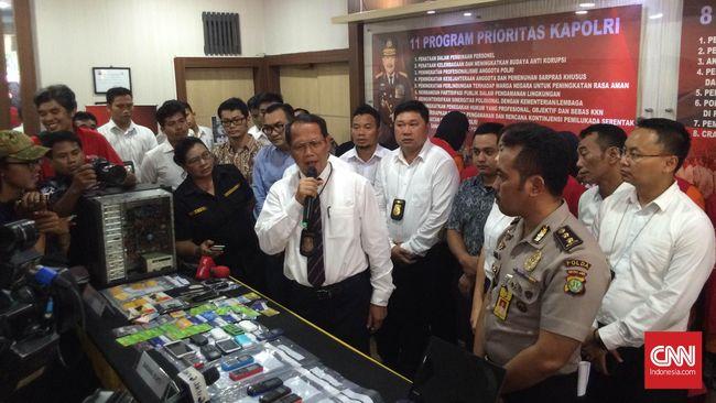 Polisi Tangkap Kelompok Penipu Jual-Beli Online