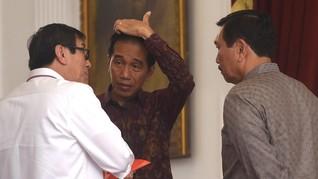 Jokowi Didesak Copot Menteri Yasonna Usai OTT Sukamiskin
