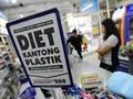 Gunakan Plastik, Mal dan Pasar Terancam Denda Rp25 Juta