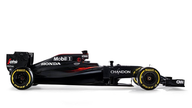 Dua juara dunia, Fernando Alonso dan Jenson Button, akan berharap banyak pada mobil MP4-31 milik McLaren. (CNN Indonesia Free Rights/HondaRacingF1.com)