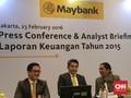 Maybank Incar Pembiayaan Rp1,5 T dari Penerbitan Obligasi
