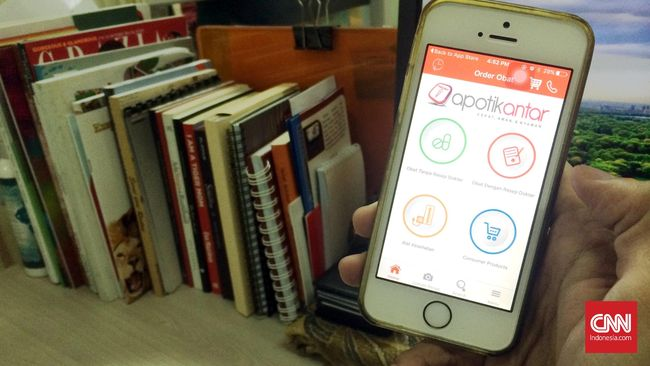 Apotik Antar, Aplikasi Pengantar Obat Pasien