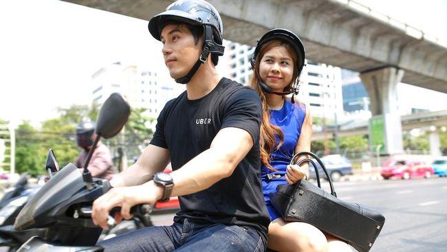 Thailand Larang Ojek Uber dan Grab