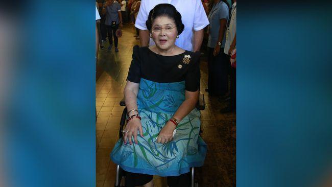 Filipina Perintahkan Penangkapan Istri Ferdinand Marcos