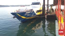 Arus & Palung Hambat Pencarian Penumpang Ferry di Selat Bali