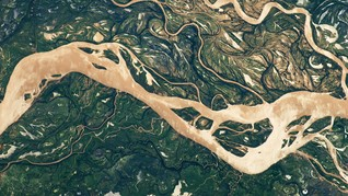 Sungai Kepang, Fenomena Alam di Jalur Gletser