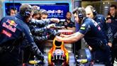 Selain Ferrari, penggemar F1 juga menanti kebangkitan Red Bull untuk menyaingi Mercedes. Tapi hasil pramusim belum menunjukkan mereka akan unjuk gigi musim ini. (Getty Images/David Ramos)