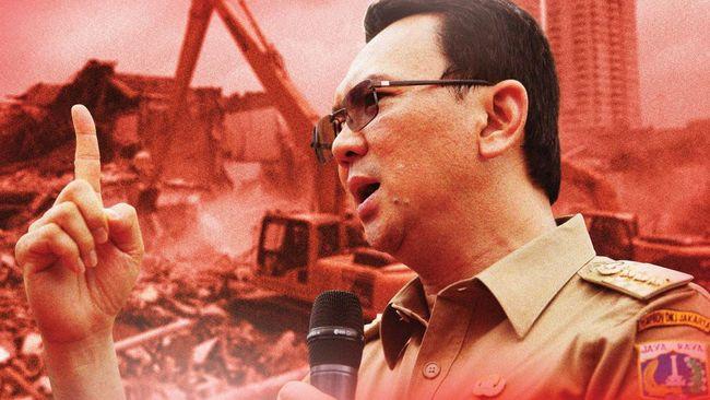 Deretan Aksi Penggusuran Gubernur Ahok