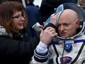 Setahun di Antariksa, Tubuh Astronaut Lebih Panjang 5 Cm