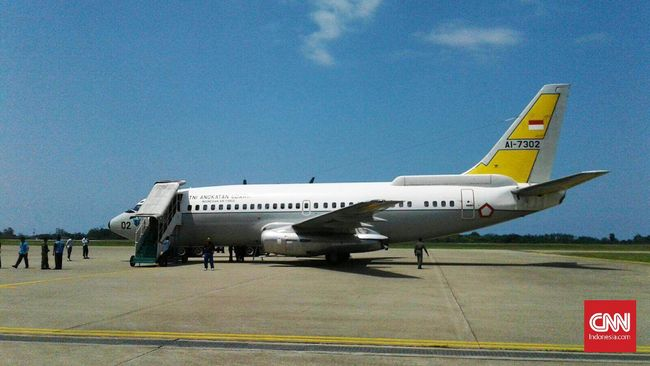TNI AU Kerahkan Boeing 737 Pantau Dampak Gempa Mentawai