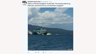 Lct Rafelia Tenggelam Diduga Akibat Lambung Kapal Bocor