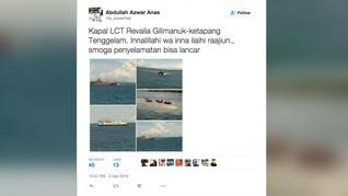 71 Penumpang Telah Dievakuasi dari Kapal Lct Rafelia