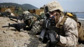 Jelang Pertemuan Korut, AS-Korsel Latihan Militer Gabungan