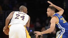 Memotret Momen Tim Kobe Bryant Mengalahkan Tim Stephen Curry