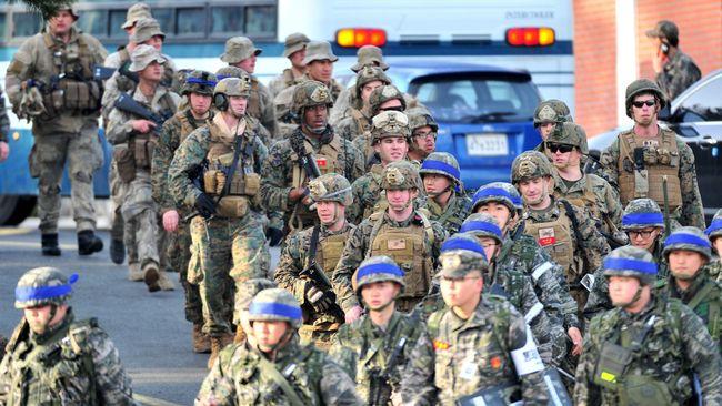 Trump Hentikan Latihan, Militer Mengaku Belum Dapat Perintah