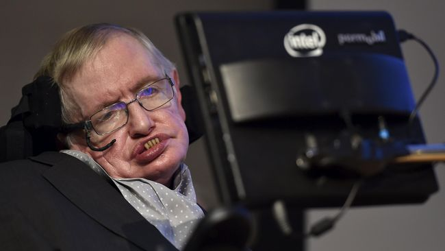 Prosesi Pemakaman Stephen Hawking Digelar di Gereja