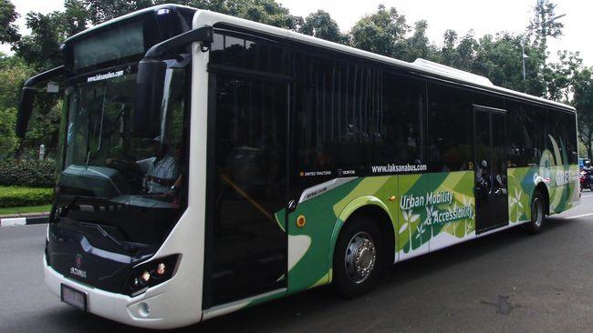 Setelah Kereta Api, Kini RI Ekspor Bus ke Bangladesh
