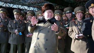 Diduga Berencana Bunuh Kim Jong Un, Dua Pria Ditangkap