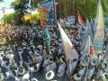 Seribu Orang Turun ke Jalanan Legian, Tolak Reklamasi Bali