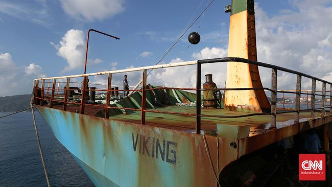 Karamkan Kapal 'Hantu' Viking, RI Menuju Poros Maritim Dunia