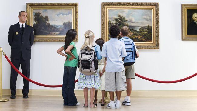 Ada Museum Lukisan di Bandara Belanda