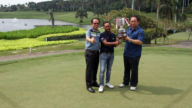 Pegolf Indonesia Wujudkan Mimpi Bertemu Jack Nicklaus