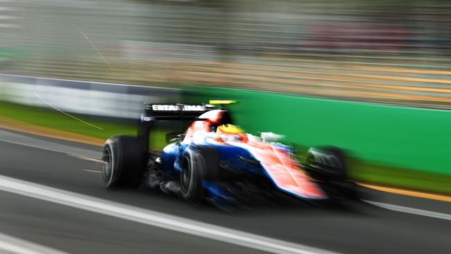 Rio berada di peringkat ke-19 dan hanya lebih baik dari satu pebalap yaitu Romain Grosjean. Rio berselisih 14 detik dari Lewis Hamilton di peringkat pertama. (Robert Cianflone/Getty Images)