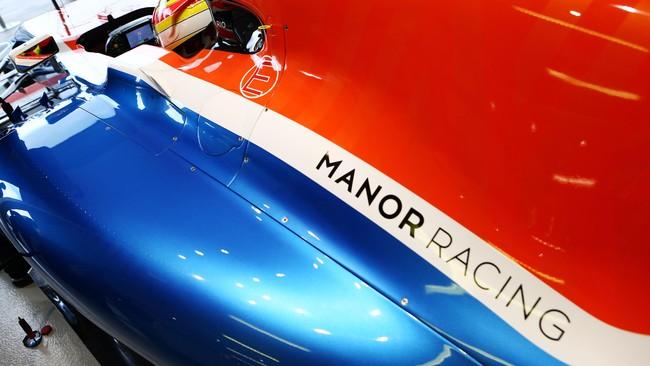 Salah satu bagian sponsor terpenting, adalah penutup mesin. Tapi Manor belum mendapatkan perusahaan yang mengisi area tersebut. (CNN Indonesia Rights Free/Manor Grand Prix Racing Ltd)