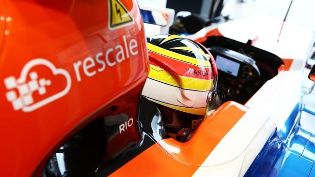 Sponsor baru Manor lainnya adalah Rescale, perusahaan teknologi asal San Fransisco, Amerika Serikat. Rescale adala penyuplai simulator untuk Manor. (CNN Indonesia Rights Free/Manor Grand Prix Racing Ltd)