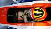 Sementara jika terlihat dari atas, manorracing.com menjadi satu-satunya tulisan yang bisa terbaca jelas. (CNN Indonesia Rights Free/Manor Grand Prix Racing Ltd)