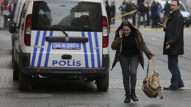 Bom Bunuh Diri di Jantung Kota Istanbul Tewaskan Empat Orang