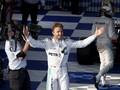 Rosberg Juara, Duo Mercedes Mencundangi Ferrari di Italia