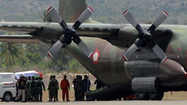 Nama 12 Awak Pesawat Hercules yang Jatuh di Wamena