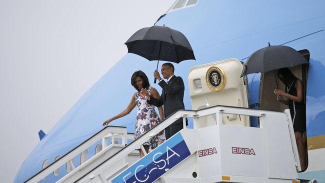Obama dan Keluarga Menginap di Resor Mewah Ubud