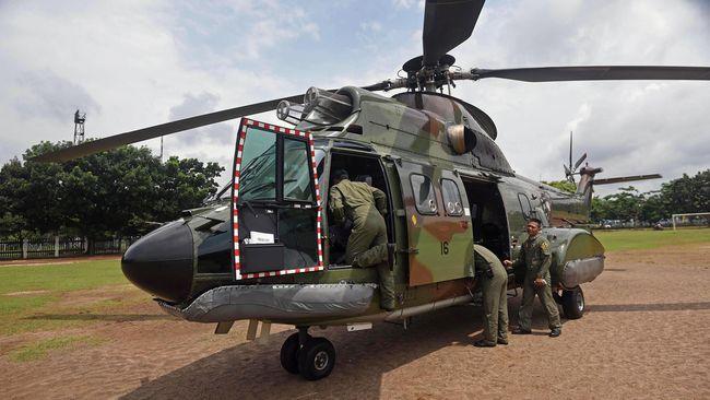 KKB Tembaki Helikopter TNI Saat Evakuasi Jenazah di Papua