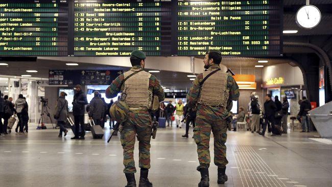 Rangkaian Ledakan di Brussels, Tak Ada Laporan Korban WNI