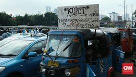 Dibalik Demo Besar-Besaran Angkutan Umum Ibu Kota