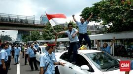 Polisi Tetapkan Empat Tersangka dalam Demo Sopir Taksi
